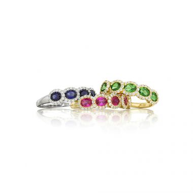 Park Designs Emerald, Ruby or Sapphire Stackable Band