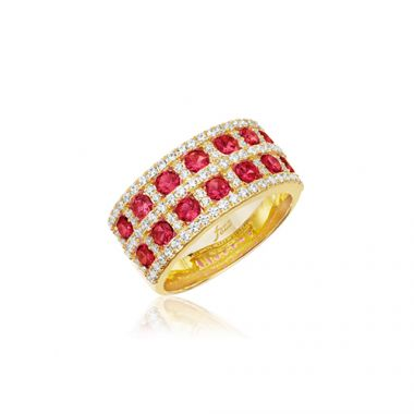 Park Designs Ruby and Diamond Double Row Band