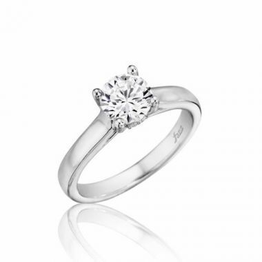 Park Designs 14k White Gold Classic Diamond Engagement Ring